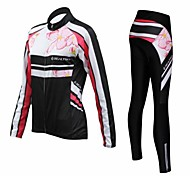 REALTOO Cycling Clothing Sets/Suits / Tights / Pants / Jerseys Women's BikeBreathable / Moisture Permeability / Quick Dry / Thermal /