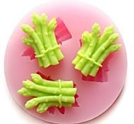 чеснок болт овощи выпечки помадка торт Шоколадные конфеты плесень, l5.4cm * w5.4cm * h0.9cm