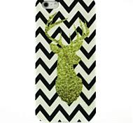 caso difícil padrão cervo dourado para iPhone 5 / 5s