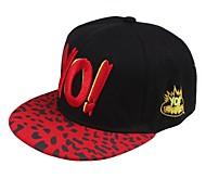 y de moda del leopardo de impresión de la letra del sombrero del sol de los hombres de las mujeres al aire libre