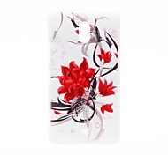 Kinston Flowers Bloom Pattern Plastic Hard Case for Nokia Lumia 1320