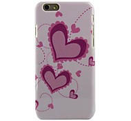 Pink Love Star Style Hard Cover for iPhone 6