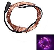 xinyuanyang® 3w 50x0603 SMD 250lm rosa tira llevada luz de la decoración (dc 12v / 5m)