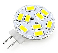 JUXIANG G4 2 W 12 SMD 5730 200 LM Warm wit/Koel wit A Decoratief Spotjes DC 12 V