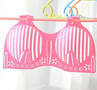 Fashionable Design Plastic Underwear Hangers(random color x1pcs)