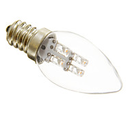 E12 0.5 W 3 15-20 LM Warm White C Decorative Candle Bulbs AC 220-240 V