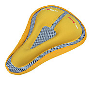 INBIKE One Line Sunk Inner Triangle Memory Sponge Yellow Super Soft Cycling Saddle Cover