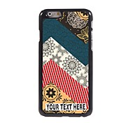 Personalized Case Elegant Pattern Metal Case for iPhone 6 Plus