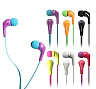 AWEI ES-Q7i  3.5mm In-Ear Earphones With MIC 3 Accessories for Samsung Phones(Assorted Colors)