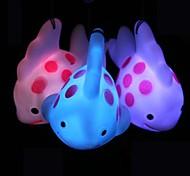 coway pingente de celular peixes coloridos levou luz noturna