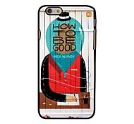 comment être bon coque arrière rigide en plastique de style pour iPhone 6