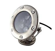6W 6 leds IP68 branco impermeável ao ar livre conduziu a luz subaquática (DC12V)