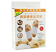 10 Pcs Kiyeski Brand Ginger Salt Detox Foot Pads Patches Foot Health Care