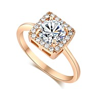 Women's Fashion High Quality 18K Gold Plated Ring