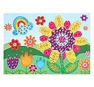 EVA Mosaic Crystal 3D Stickers Children Hand DIY Puzzle Sunflower Toy