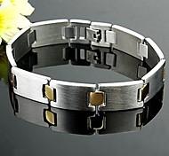 Men's Fashion Personality Exquisite Titanium Steel Glaze Bracelets