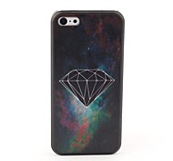 Black Diamond Style Protective Back Case for iPhone 5C