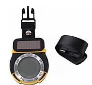 multifunzione energia solare digitale altimetro / termometro / barometro / bussola / tempo forcast / ora per l'alpinismo