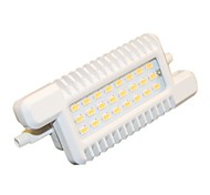 H+LUX™ R7S 10 W 24 SMD 5630 900 LM Natural White Recessed Retrofit Flood Lights AC 220-240 V