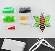 Biene 5mm Bügelperlen-Set Hama Perlen DIY Puzzle (geeignet Farbe Perlen gesetzt + 1 + 1 pegboard Bügelpapier + 1 Pinzette)