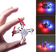 2.4GHz 4-kanaals Remote Control Toys VELOCITY Incredible Nano-Sized 4-assige RC Quadcopter Mini RC Helicopter met LED-licht