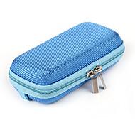 pacote de fone de ouvido fone de ouvido cabo arranjo caixa com faixa de pulso