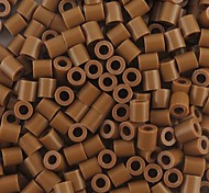 Approx 500PCS/Bag 5MM Coffee Fuse Beads Hama Beads DIY Jigsaw EVA Material Safty for Kids Craft