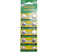 AG12/L43/386A 1.55V Alkaline Watch Battery 10PCS