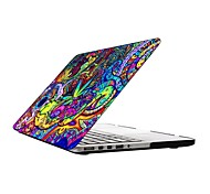 Colorful Pattern Full-Body Protective Plastic Case for 13-inch/15-inch MacBook-Pro with Retina Display