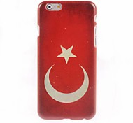 Turkish Flag Design Hard Case for iPhone 6 Plus