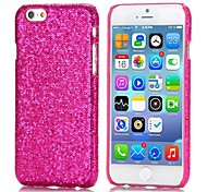Glitter Powder Leather Coated Hard Back Cover for iPhone 6(Assorted Colors)