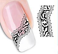 Water Transfer  Printing  Nail Stickers XF1333
