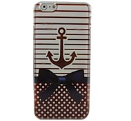 Lovely Anchor Plastic Hard Back Cover for iPhone 6