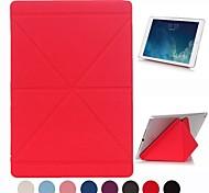 Natusun™ Gravel Pattern PU Leather Smart Case Cover  Edges of Thin Hard Plastic Case for iPad Mini1/2(Assorted Colors)