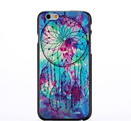 Oil Painting Pattern Plastic Cover for iPhone 6 Plus