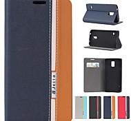 разные цвета кожи пу полный корпус кейс с подставкой и слот для карт памяти для Samsung Galaxy i9600 s5