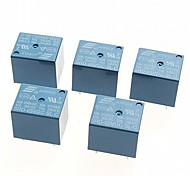 5V DC Power Relay SRD-05VDC-SL-C  PCB Type (5pcs)