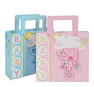 Lureme Lovely Cartoon Anlimal  Pattern Gift Bag(Blue,Pink)(1Pc)