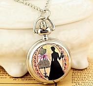 moda pequena dama bowknot colar relógio de quartzo movimento esmalte das mulheres