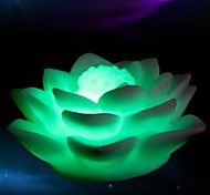 LED Color Change Lotus Shaped Light Halloween Props (Random Color)