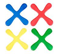 Children Indoor EVA Secure Cross-shaped Boomerang Dart Toys(Assorted Color)
