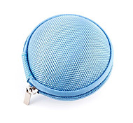 uuii arranjo cabo caixa fone de ouvido fone de ouvido com zíper pacote