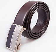Omgoma® Men's Classic Automatic Buckle Leather Belt