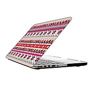 Lovely Snowflake Pattern Design Full-Body Protective Plastic Case for 13-inch/15-inch MacBook-Pro with Retina Display