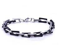 Men's Fashion Personality Tideway Titanium Steel Manual Bracelets