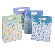 Coway 27*19*9 The Beautiful Leaves Bow Cover Bag Party Paper Gift Bags(Random Color)