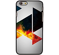 Space Triangles Style Plastic Hard Back Cover for iPhone 6