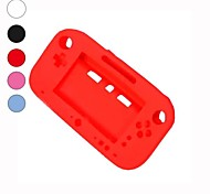 de suave silicona de gel de plena protección de la manga la cubierta del caso para nintendo wii u gamepad