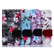 Floral Pattern PU Full Body Case with Card Slot for Samsung Galaxy Grand I9082 (Assorted Colors)