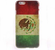 Mexican Flag Design Hard Case for iPhone 6 Plus